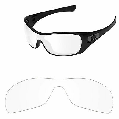 0dd9ab2cb5e43 PapaViva Crystal Clear Replacement Lenses For-Oakley Antix Sunglasses