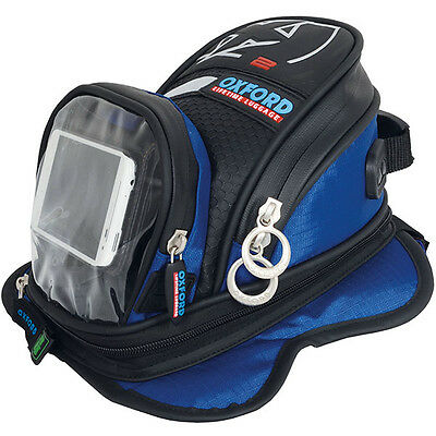 Oxford Lifetime X2 Motorcycle Tankbag - Blue