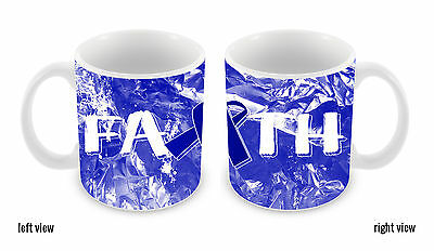 Colon Cancer Awareness Faith Ribbon 11oz Ceramic Coffee Mug