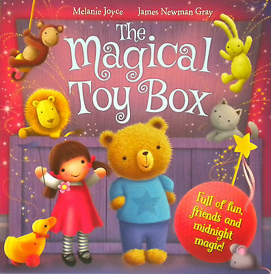 The Magical Toy Box children's story picture book boys girls fiction new