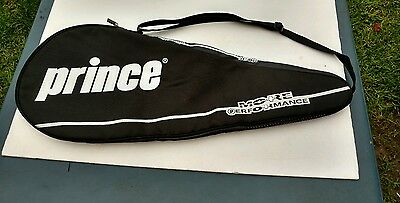 Prince More Performance Tennis Racquet Cover Black Vented Vintage