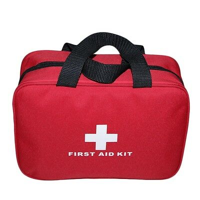 Portable Sports Camping Home Medical Emergency Survival First Aid Kit Bag GT
