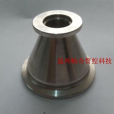Stainless Steel 304 Vacuum Reducer Conical Flange Adapter KF25 to KF10 #A69I LW