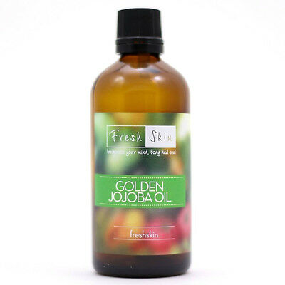 50ml Jojoba Golden Oil - 100% Pure Cold Pressed