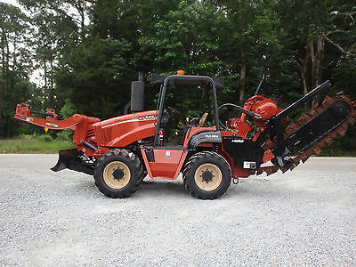 2008 Ditch Witch RT115 trencher / cable plow / reel carrier,  new tires