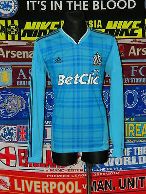5/5 Olympique Marseille adults XL 2010 mint football shirt jersey trikot maillot