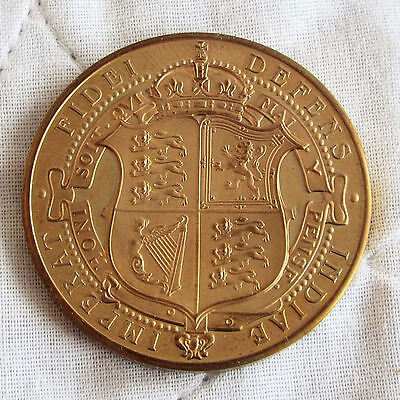 1905 Edward Vii Golden Proof Pattern Shield Crown