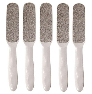 5pc Nickel Callus File Remover Extra Coarse Foot Pedicure Tool Removes dead skin