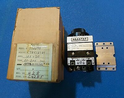 Agastat  Time Delay Relay 7022Pe 125 Vdc 20-200 Seconds