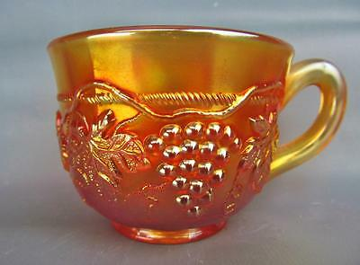 CARNIVAL GLASS - NORTHWOOD Marigold GRAPE & CABLE Punch Cup