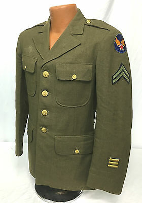 WWII US Army Air Corps Enlisted Engineering Specialist Jacket