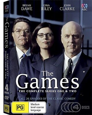 BRAND NEW The Games - Complete Series (DVD, 2016, 4-Disc Set) R4 ABC