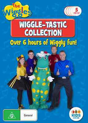 The Wiggles: Wiggle-Tastic Collection 5 DVD Box Set (NEW & SEALED)