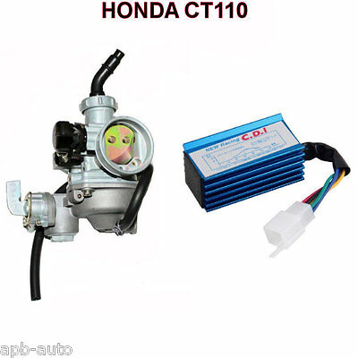 Honda Ct110 Carburetor Carby Honda Ct 110 Postie Bike Cdi Racing Unit Pack