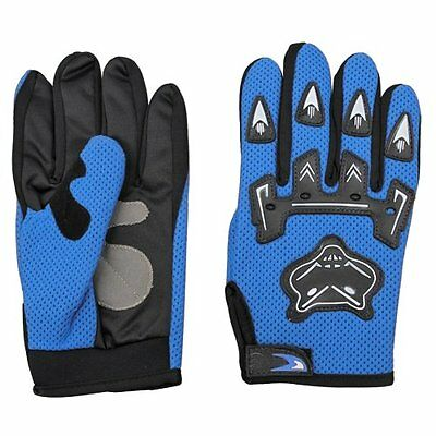 Pair Bicycle Bike Cycling Motorcycle Full Finger Gloves W1