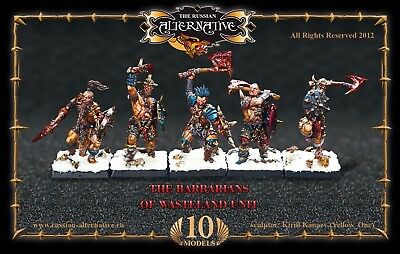 The Barbarians of Wasteland Unit Russian Alternative RESIN