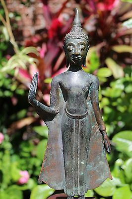 Bronze figure of Thai Buddha, Thailand, Ayutthaya, circa 17th century