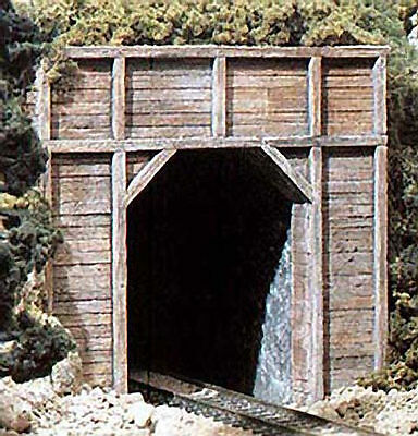 Model Train N scale accessories 2 Timber Style single Portal Woodland #C1154