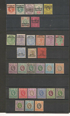 British Africa QV to KGV Selection Mint Hinged With Gum