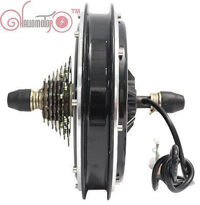 24/36/48V 500W Threaded Brushless Gearless Rear Hub Motor Ebike Electric Bicycle
