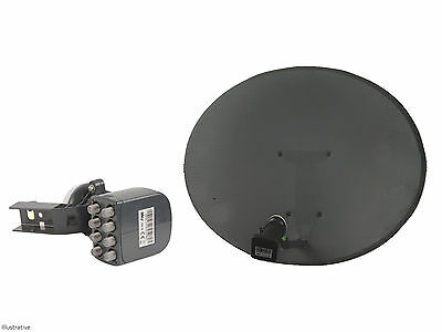 Sky / Freesat Satellite Dish with Octo LNB, use for Sky or Free TV
