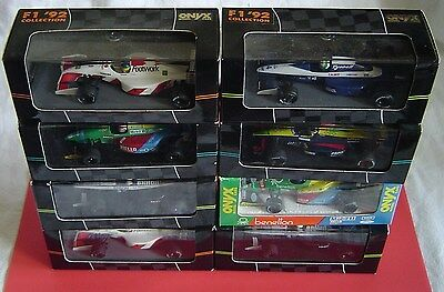 ONYX Formula 1 Race Cars 1/43 Scale (Your Choice)