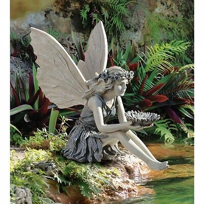 Design Toscano The Sunflower Fairy Statue. Delivery is Free