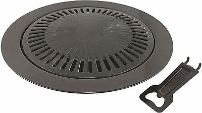Non-Stick Grill Plate for Portable Gas Stove BBQ Barbeque Camping NEW