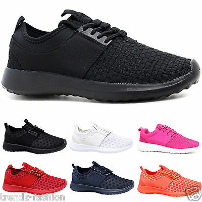 Ladies Trainers Women Girls Running Shock Absorbing Light Weight Gym Sports Shoe