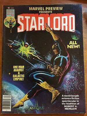 Marvel Preview #11 Star Lord 2nd Appearance Very Fine Guardians Of The Galaxy