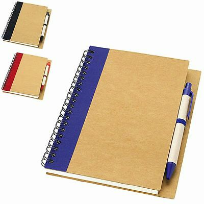 Notebook per Appunti Priestly con 60 Fogli A6 Bianchi Memo Block Notes e Penna