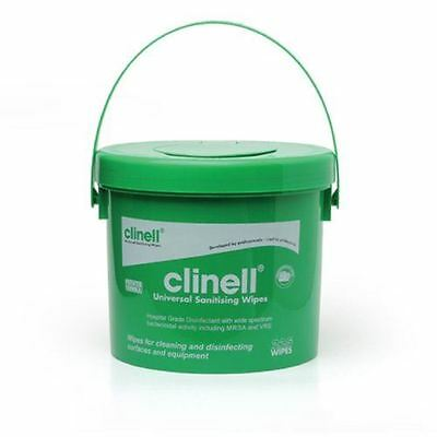 Clinell Universal Wipes Bucket pack of 225 Wipes