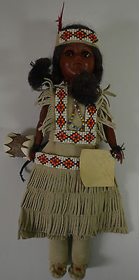 Native American Indian Girl Doll #WWW