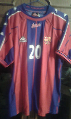 Fc Barcelona Handbol Handball Match Worn Shirt Camiseta Xl