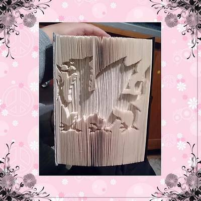 Combination Cut and Fold Book Folding Pattern Fish 549 Pages  #2004