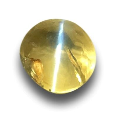 1.38 CTS Natural grgeen chrysoberyl |Loose Gemstone|New Certified| Sri Lanka
