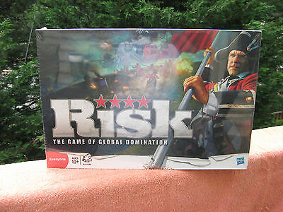 """Risk """"The Game of Global Domination"""" 2010 By Hasbro New & Factory Sealed"""