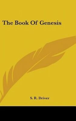 The Book of Genesis by S.R. Driver.