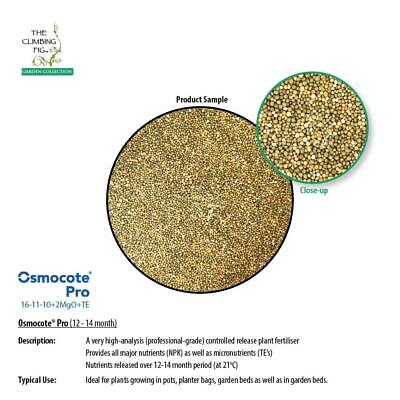 Osmocote® Pro   12-14 month controlled release   high-analysis plant fertiliser.