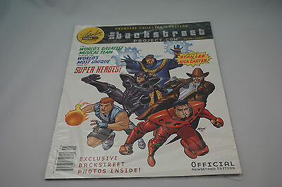 Backstreet Boys Project Comic Book Limited Foil Edition.  Very Rare !! New !!