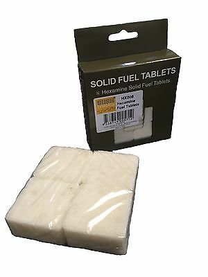 8 Brand New Hexamine Emergency Survival Fuel Tablets Military Army Cadets