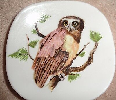 House Of Goebel Bavaria W. Germany Small Owl Plate*