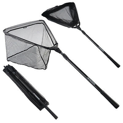 MadBite Fishing Landing Net Boating Lightweight Telescoping 0.9-2.1m Folding Net