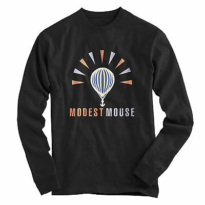 MODEST MOUSE Rock Band logo Long Sleeve Shirt Size S to 3XL