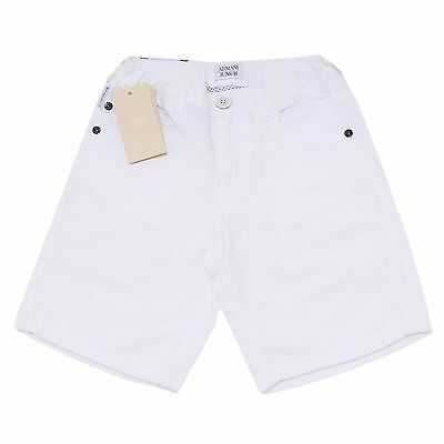 6289O bermuda misto lino bimbo ARMANI JUNIOR trousers shorts kids