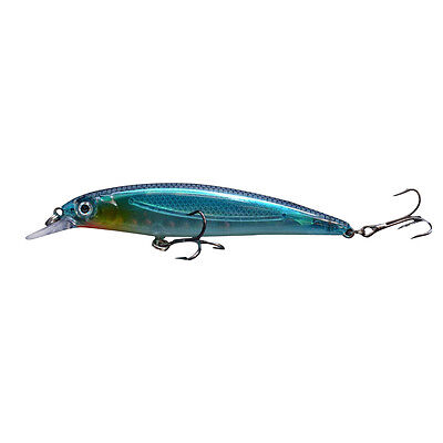 S3 Hard Lure Crank Bait Tackle Treble 14g 11cm Plastic 3D Eyes Minnow Fishing W1