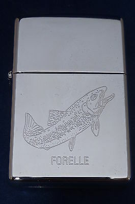 Lighter Zippo Trout Forelle Fish (EB132)