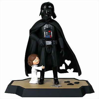 Star Wars Gentle Giant DARTH VADER and little Princess Deluxe Maquette leia book