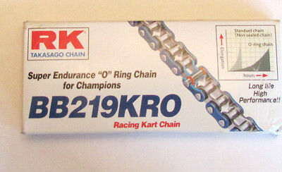 RK Takasago Chain BB219KRO 114L Racing Kart Chain - Super Endurance 'O' Ring