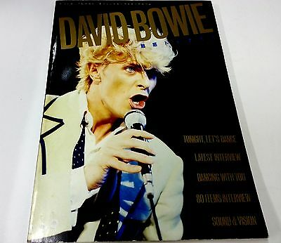 DAVID BOWIE Japan Photo Book Viva Rock special issue 1984